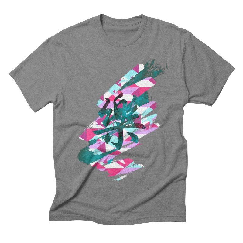 Chaotic Melody Men's Triblend T-shirt by 7sixes's Artist Shop
