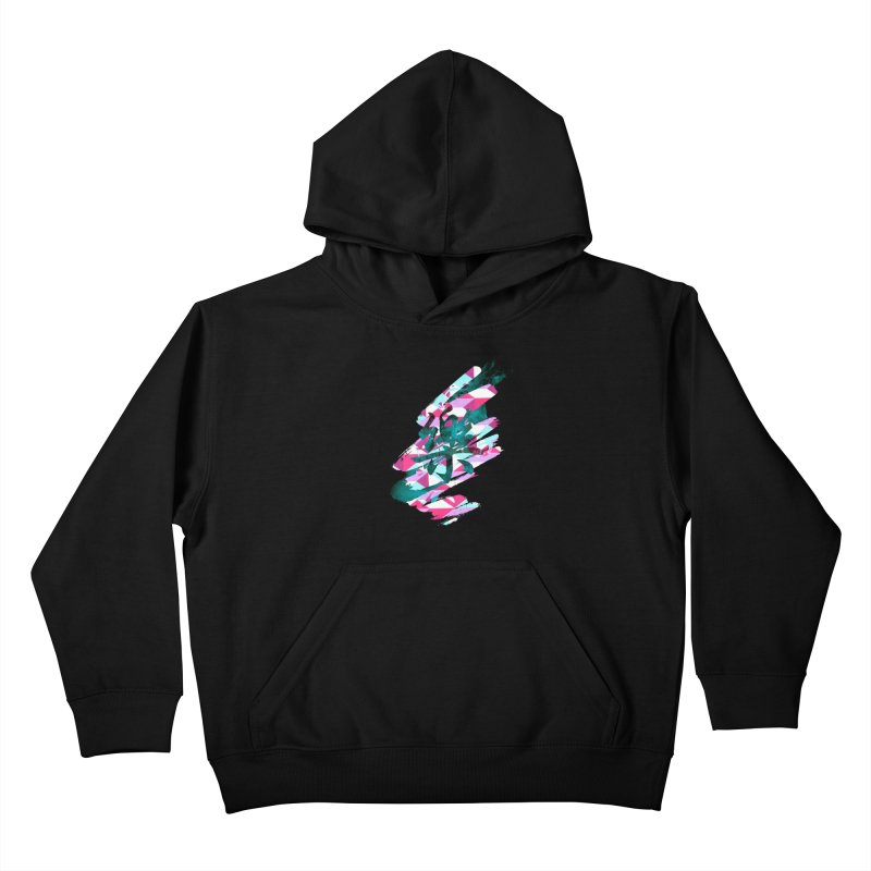 Chaotic Melody Kids Pullover Hoody by 7sixes's Artist Shop