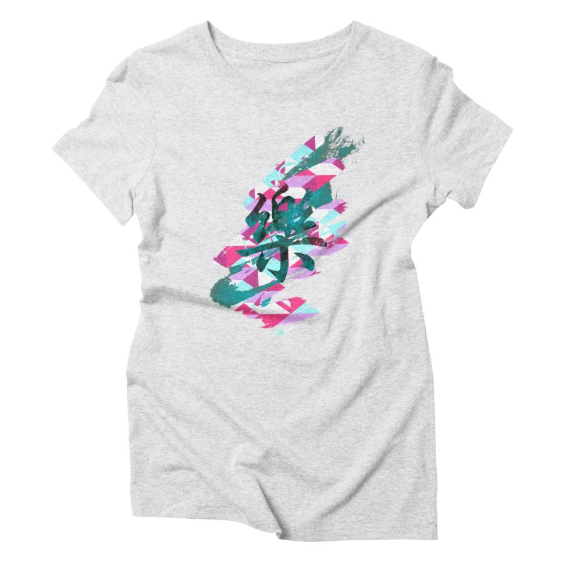 Chaotic Melody Women's Triblend T-Shirt by 7sixes's Artist Shop
