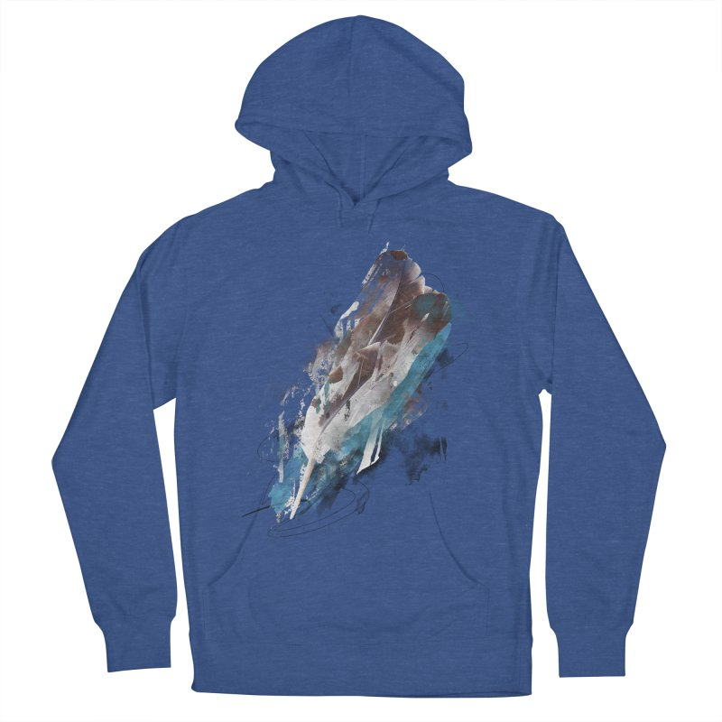 Mightier Than The Sword Women's French Terry Pullover Hoody by 7sixes's Artist Shop