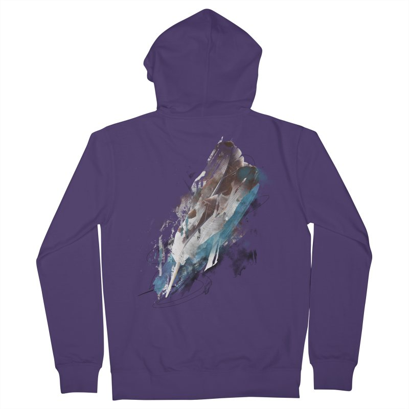 Mightier Than The Sword Women's Zip-Up Hoody by 7sixes's Artist Shop