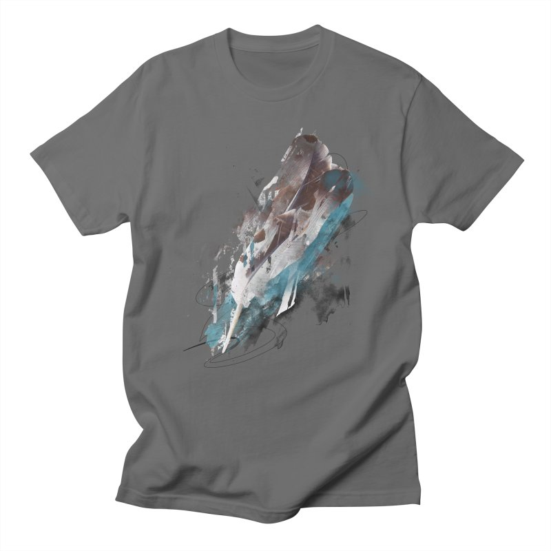 Mightier Than The Sword in Men's T-shirt Asphalt by 7sixes's Artist Shop