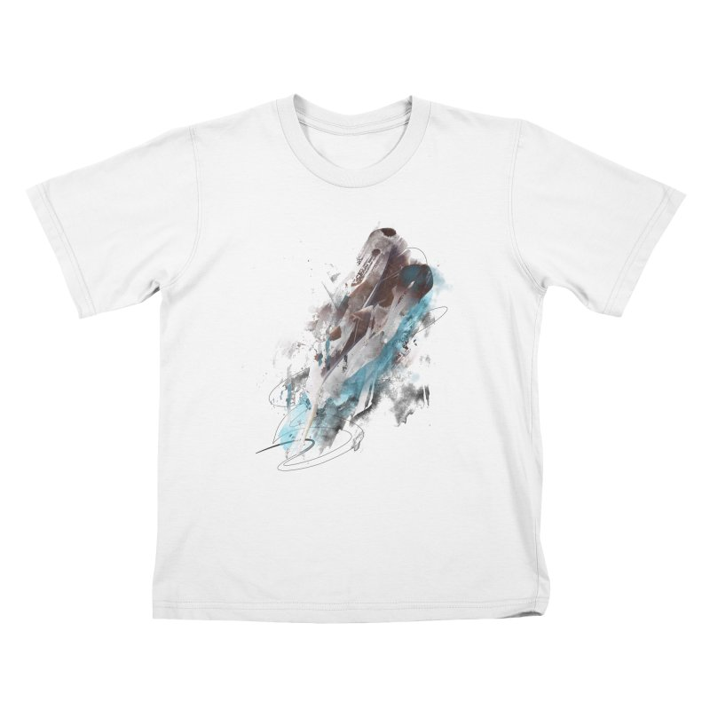 Mightier Than The Sword Kids T-shirt by 7sixes's Artist Shop