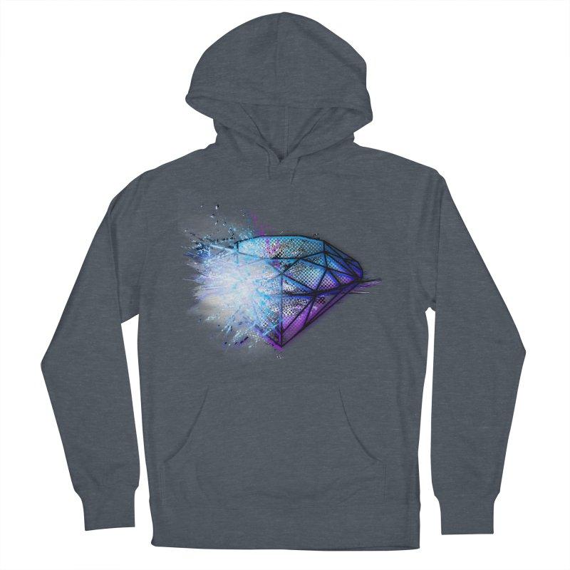 Diamonds Men's Pullover Hoody by 7sixes's Artist Shop