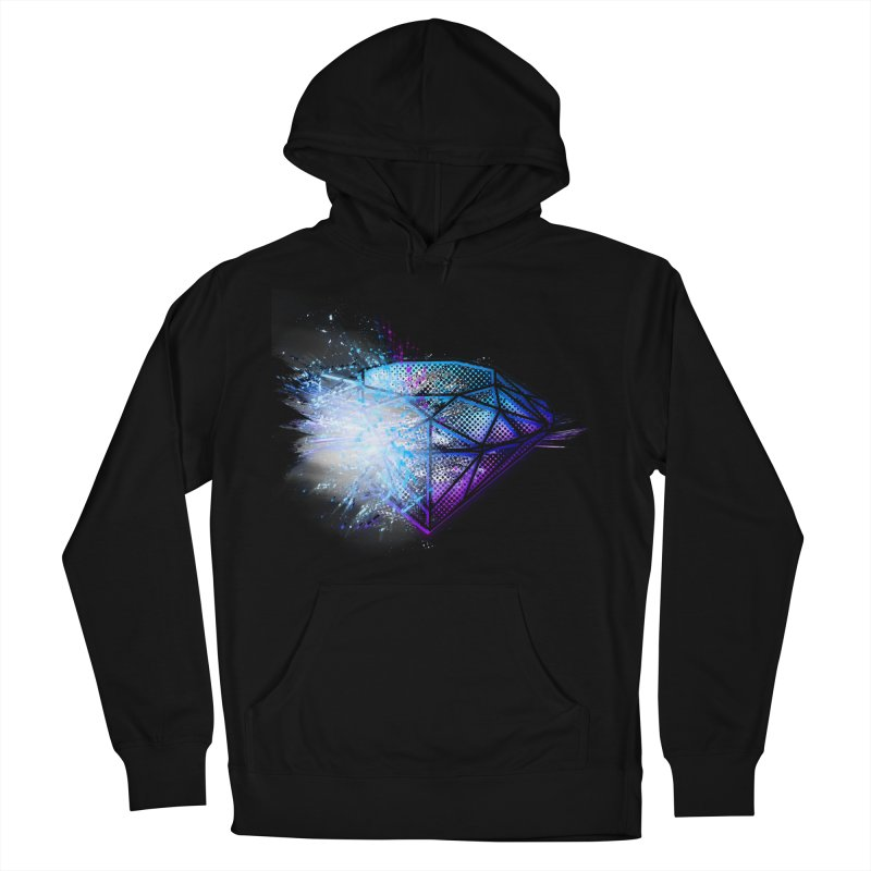 Diamonds Men's Pullover Hoody by 7sixes's Artist Shop