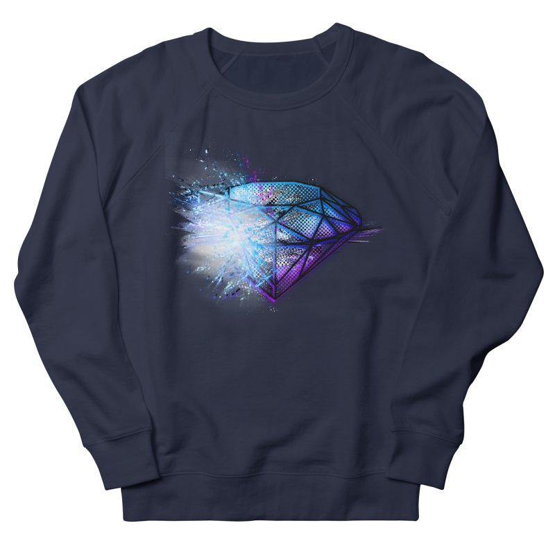 Diamonds Women's French Terry Sweatshirt by 7sixes's Artist Shop