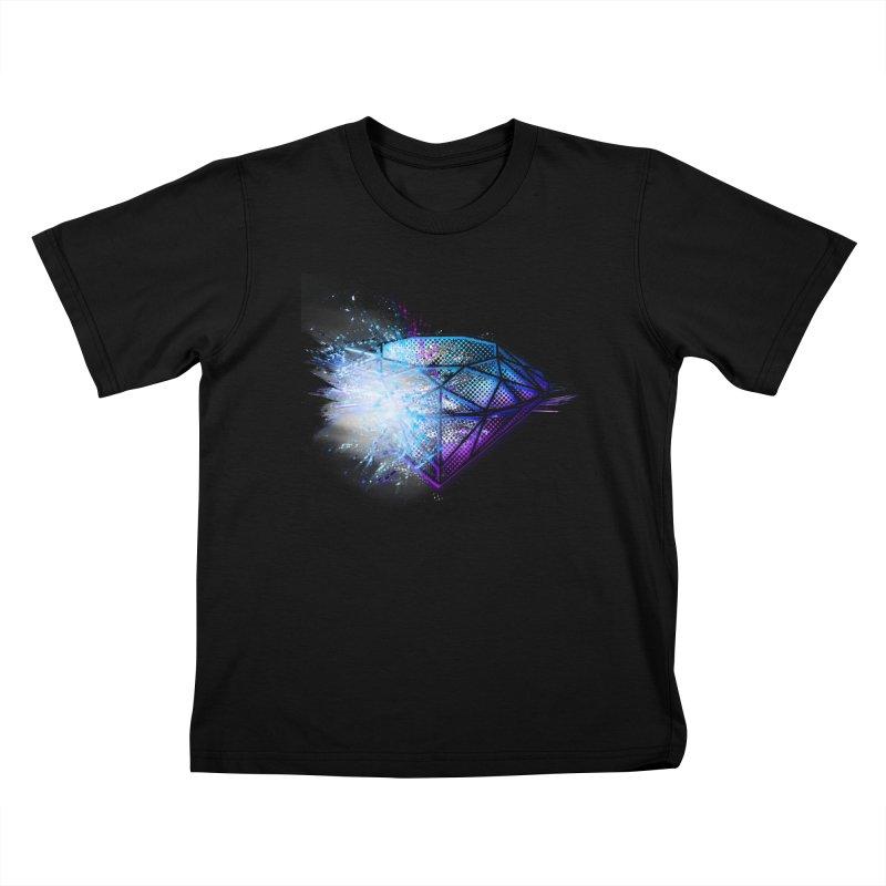 Diamonds Kids T-shirt by 7sixes's Artist Shop