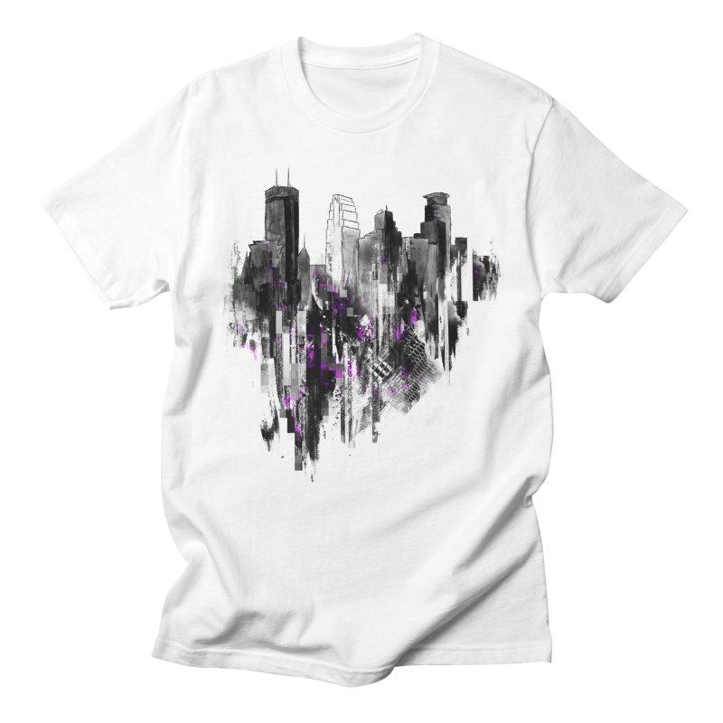 Living City Men's T-Shirt by 7sixes's Artist Shop
