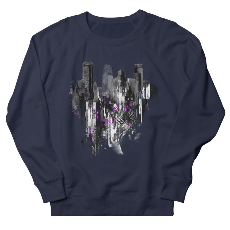 Living City Women's French Terry Sweatshirt by 7sixes's Artist Shop