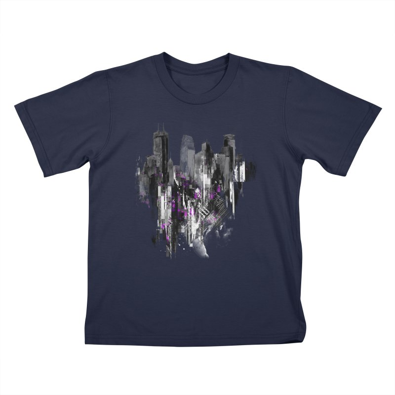 Living City Kids T-Shirt by 7sixes's Artist Shop