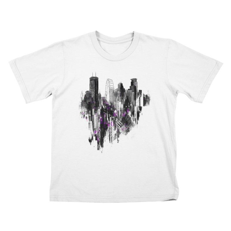 Living City Kids T-Shirt by 7sixes's Artist Shop