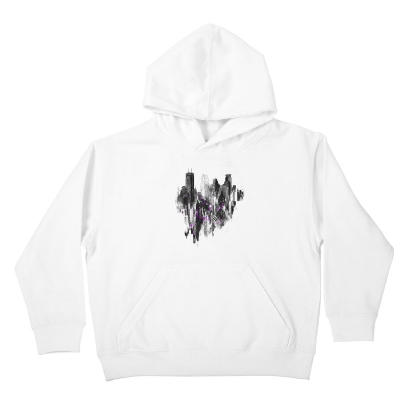 Living City Kids Pullover Hoody by 7sixes's Artist Shop