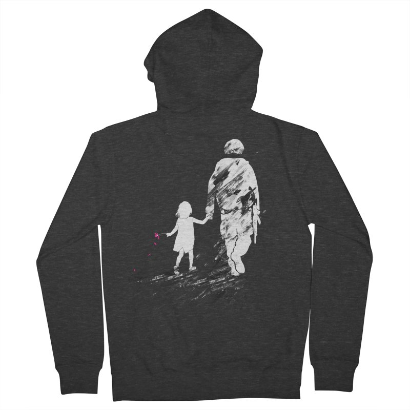 Soldier of Fortune Women's French Terry Zip-Up Hoody by 7sixes's Artist Shop