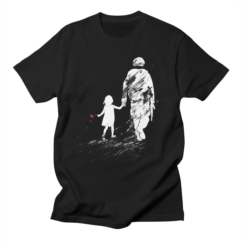 Soldier of Fortune in Men's T-shirt Black by 7sixes's Artist Shop