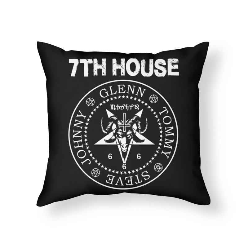 Design by Curtis Christensen Home Throw Pillow by 7thHouse Official Shop