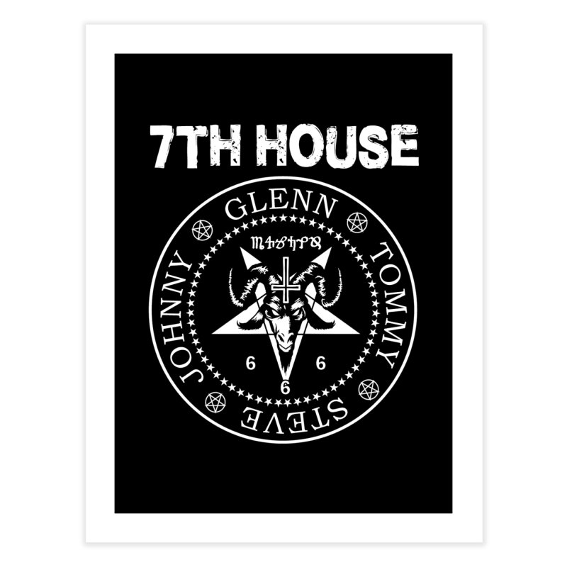 Design by Curtis Christensen Home Fine Art Print by 7thHouse Official Shop