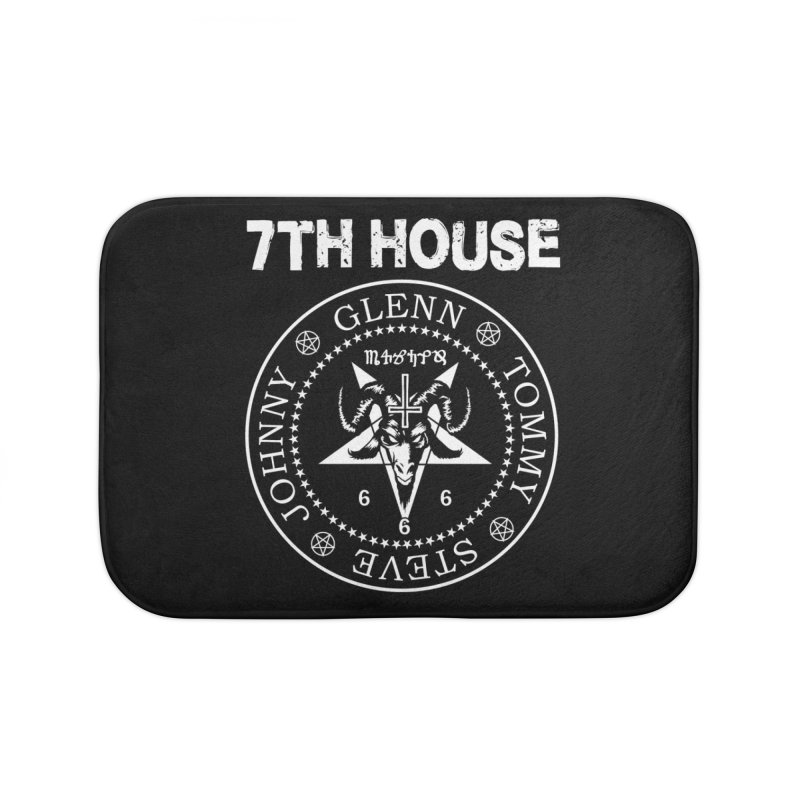 Design by Curtis Christensen Home Bath Mat by 7thHouse Official Shop