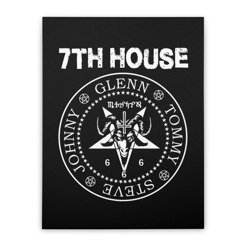 Design by Curtis Christensen Home Stretched Canvas by 7thHouse Official Shop