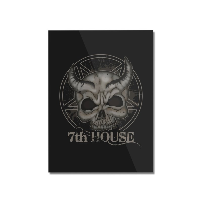 Design by Stephen DiRuggiero Home Mounted Acrylic Print by 7thHouse Official Shop