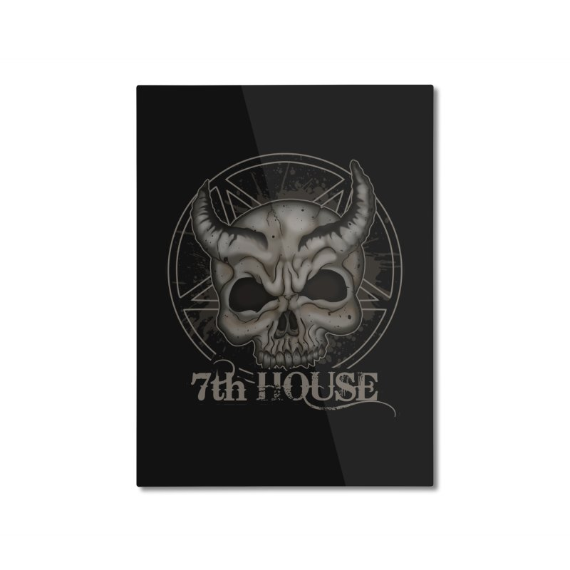 Design by Stephen DiRuggiero Home Mounted Aluminum Print by 7thHouse Official Shop