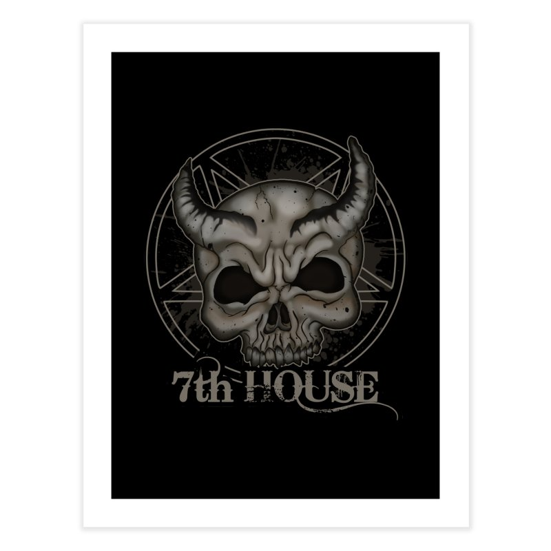 Design by Stephen DiRuggiero Home Fine Art Print by 7thHouse Official Shop