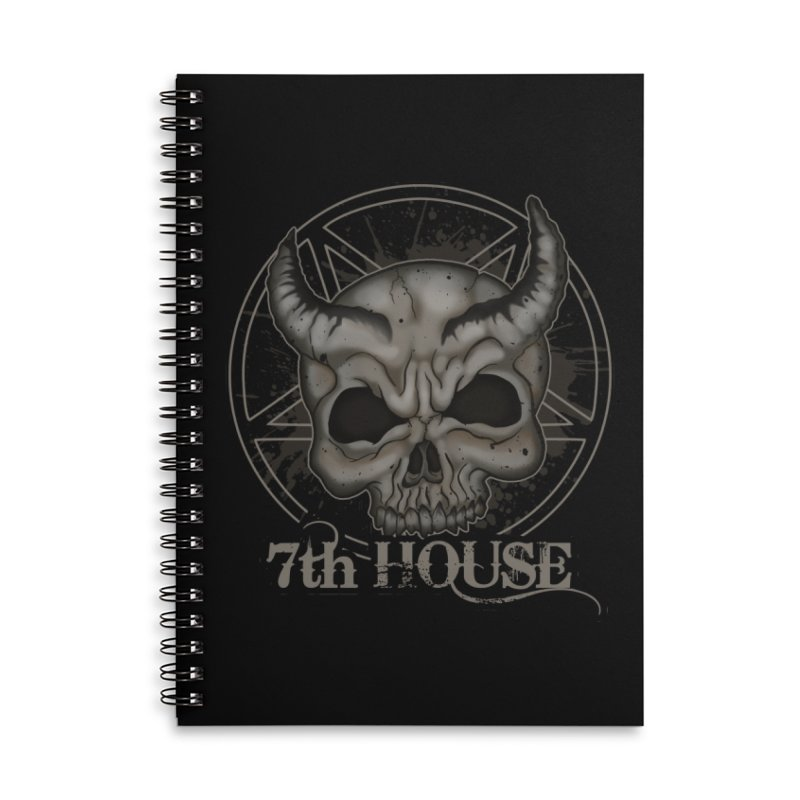 Design by Stephen DiRuggiero Accessories Notebook by 7thHouse Official Shop