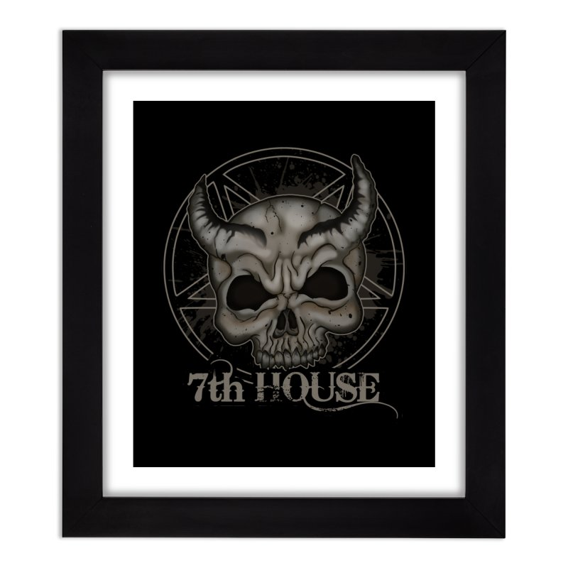 Design by Stephen DiRuggiero Home Framed Fine Art Print by 7thHouse Official Shop