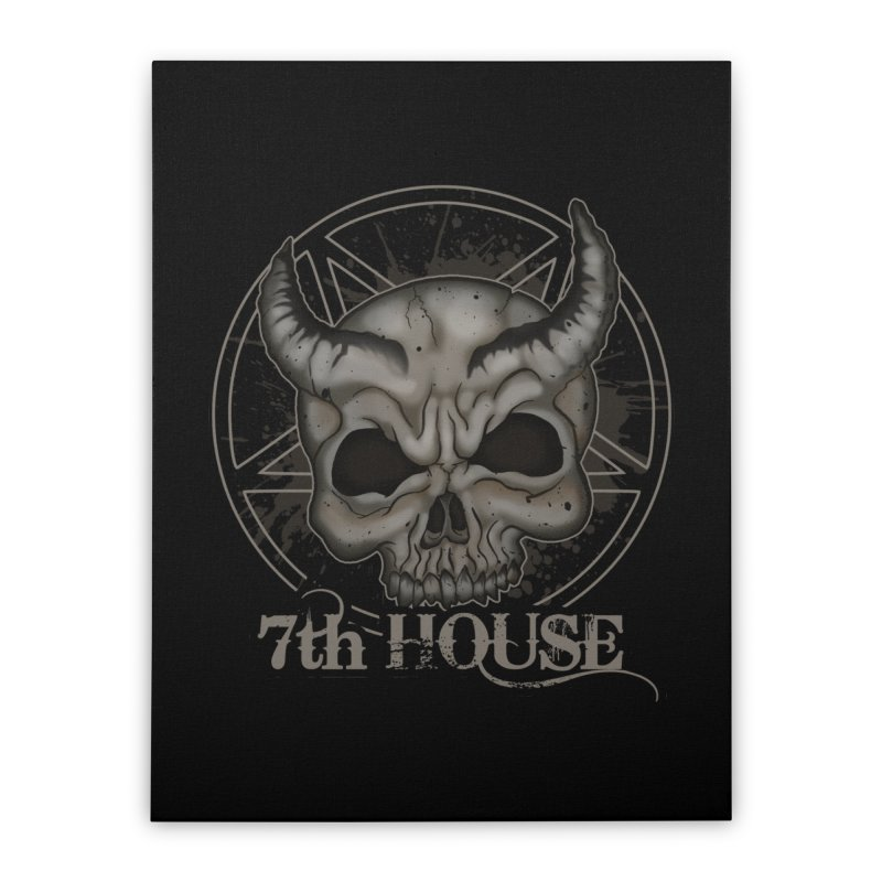 Design by Stephen DiRuggiero Home Stretched Canvas by 7thHouse Official Shop