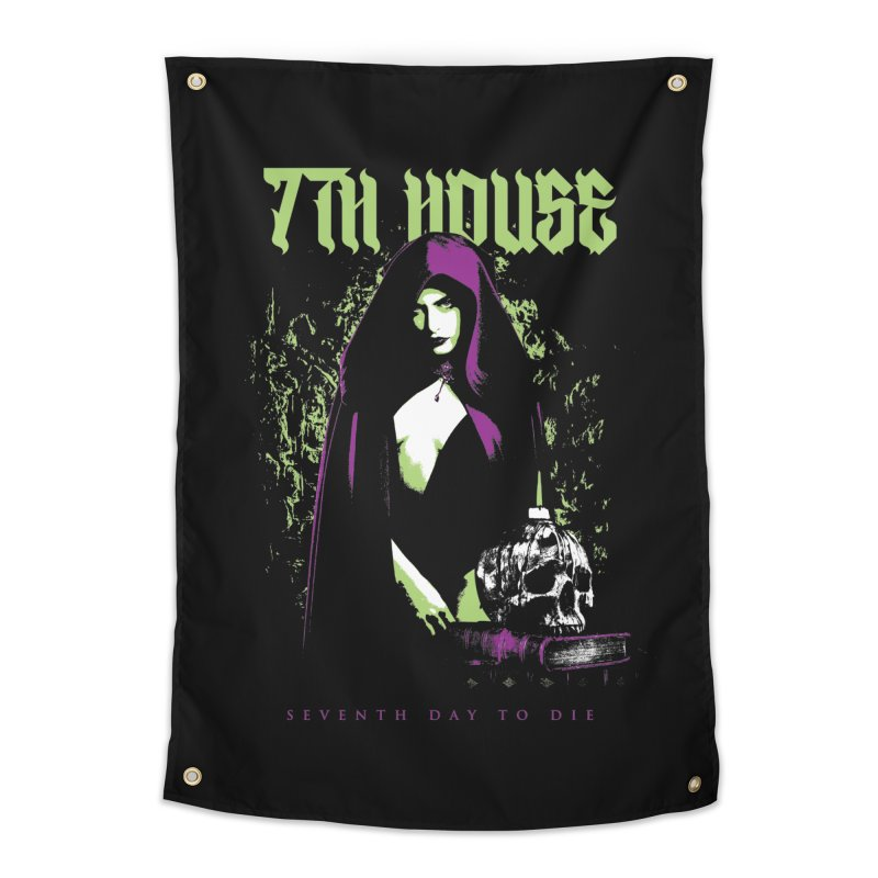 Design by Mister Black Home Tapestry by 7thHouse Official Shop