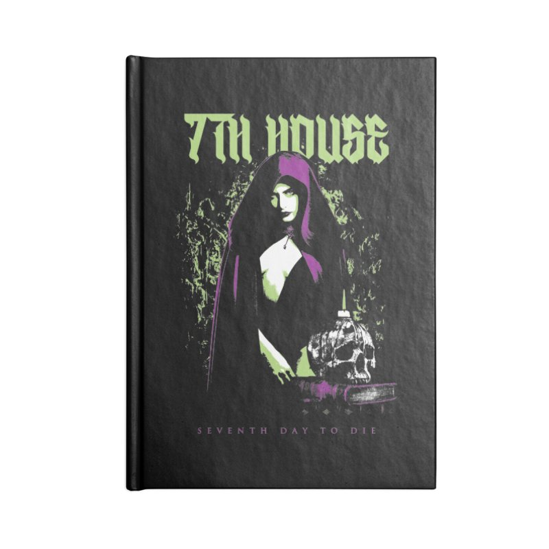 Design by Mister Black Accessories Notebook by 7thHouse Official Shop