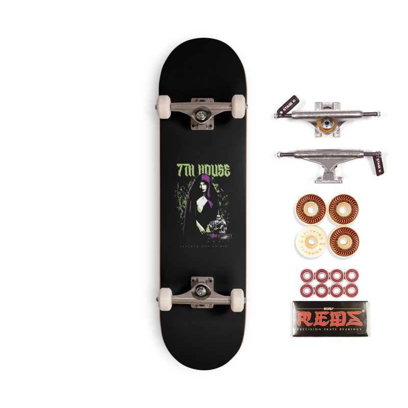 Design by Mister Black Accessories Skateboard by 7thHouse Official Shop