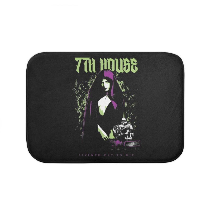 Design by Mister Black Home Bath Mat by 7thHouse Official Shop