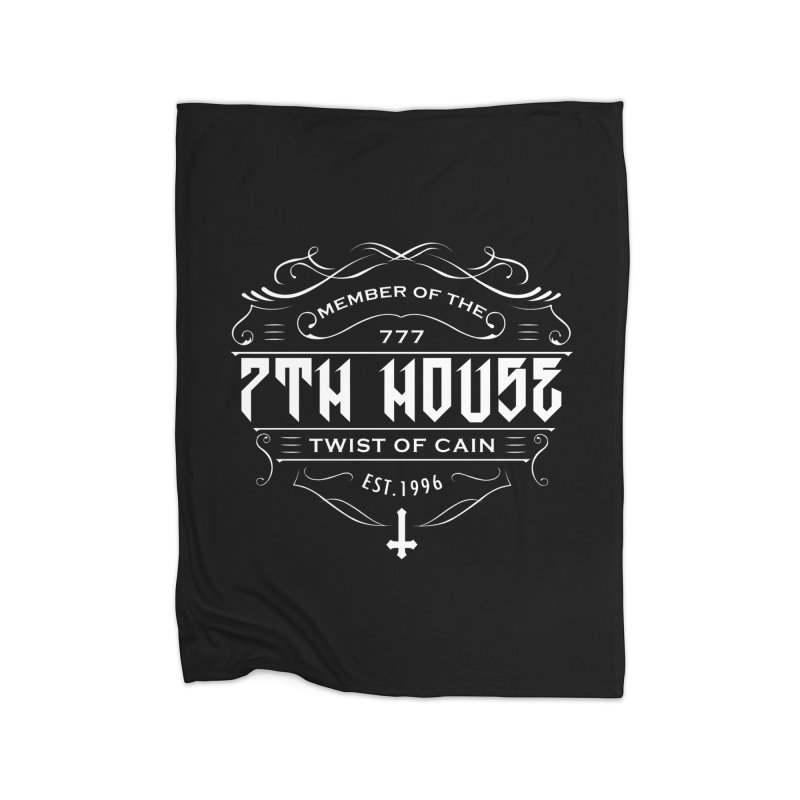 Design by Mister Black Home Blanket by 7thHouse Official Shop