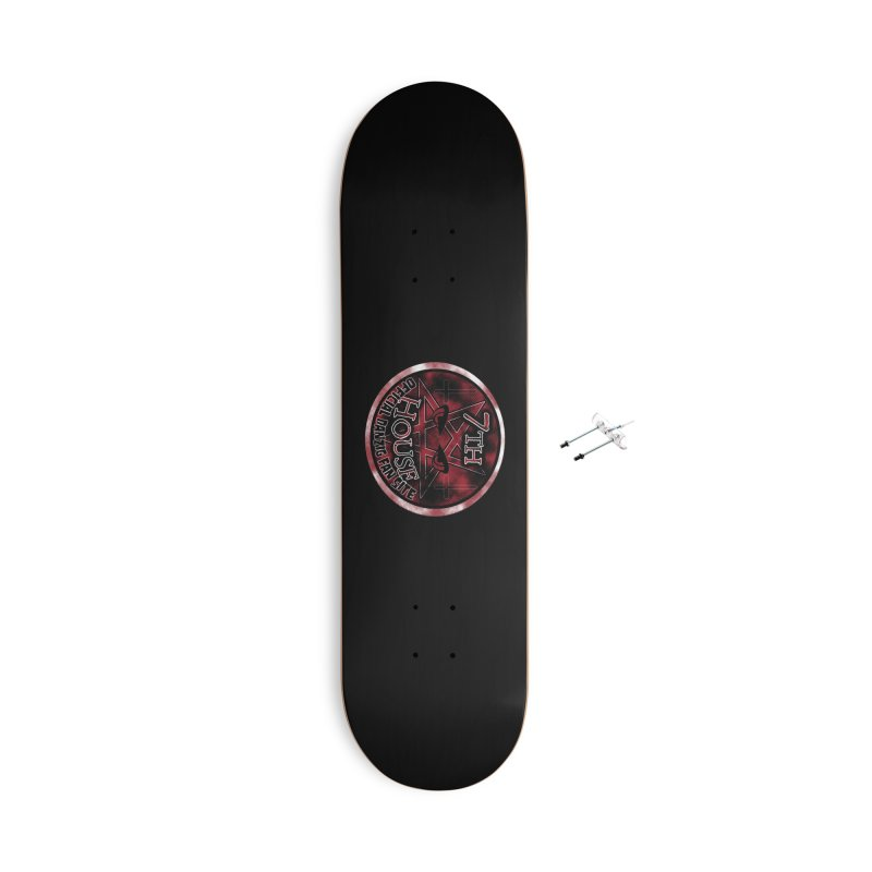 Design by Robby Bloodshed Accessories Skateboard by 7thHouse Official Shop