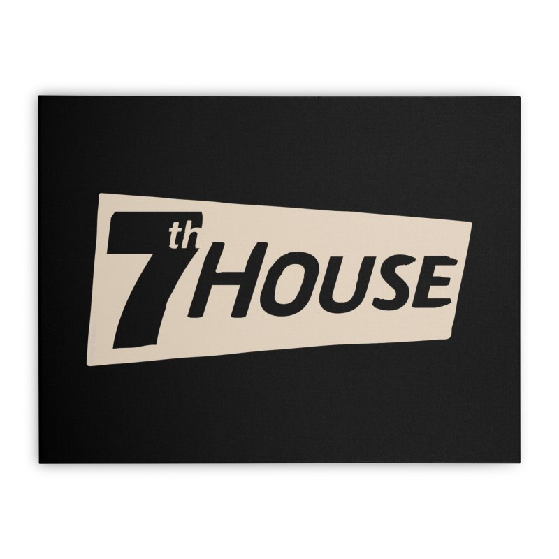 Design by Nuntida Sirisombatwattana Home Stretched Canvas by 7thHouse Official Shop