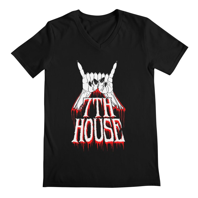 Design by Keith Oburn Men's V-Neck by 7thHouse Official Shop