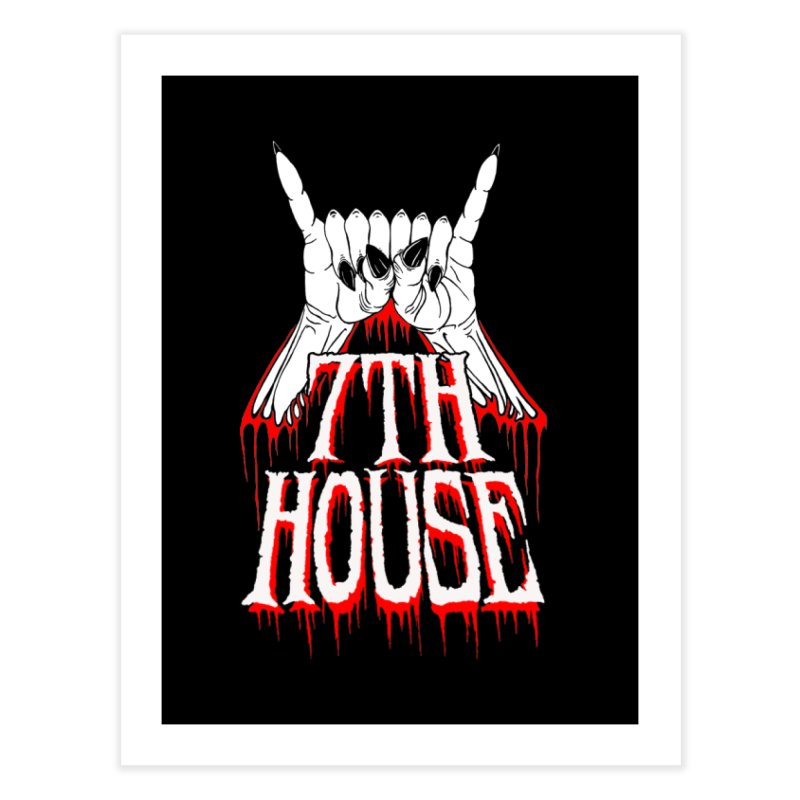 Design by Keith Oburn Home Fine Art Print by 7thHouse Official Shop
