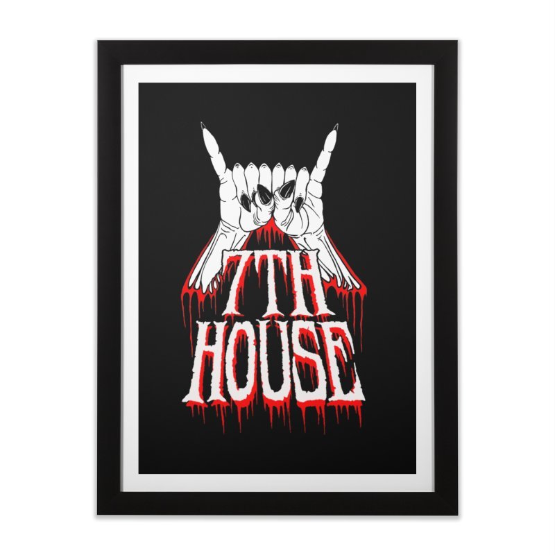 Design by Keith Oburn Home Framed Fine Art Print by 7thHouse Official Shop