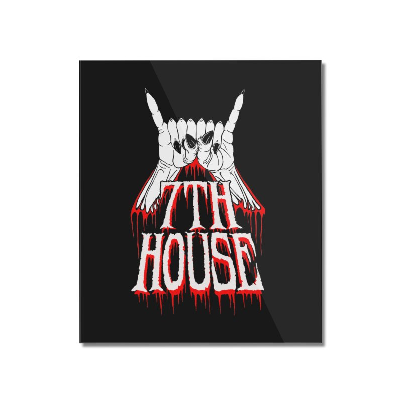 Design by Keith Oburn Home Mounted Acrylic Print by 7thHouse Official Shop