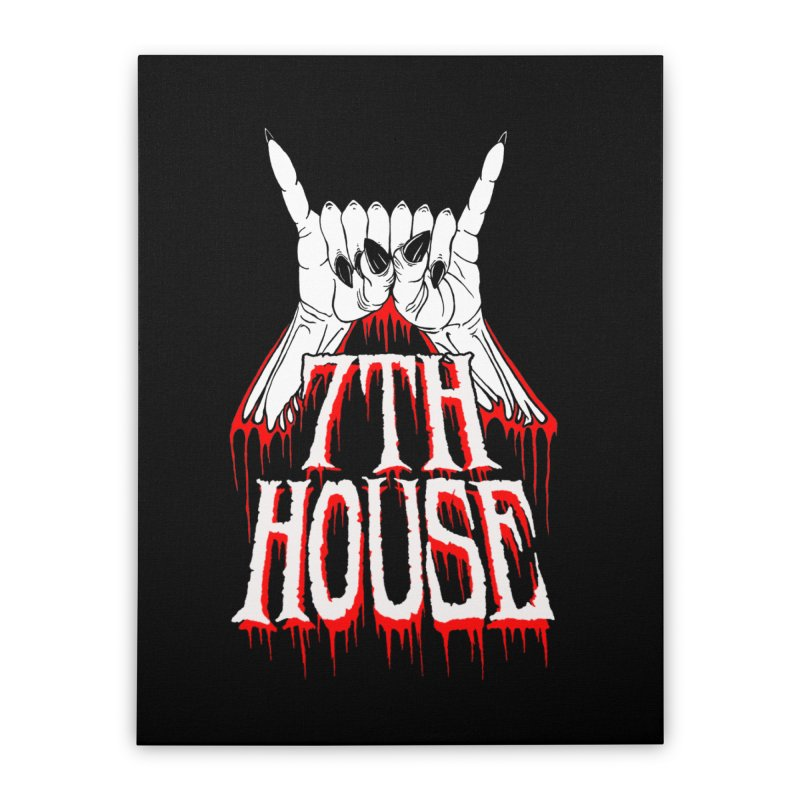 Design by Keith Oburn Home Stretched Canvas by 7thHouse Official Shop