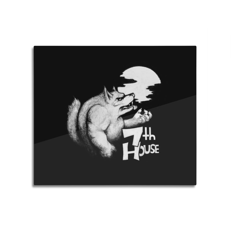 Design by Andy Niel Home Mounted Aluminum Print by 7thHouse Official Shop