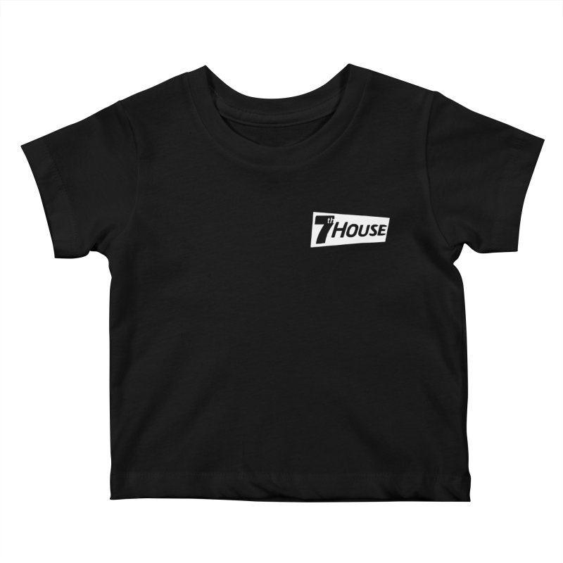 7th House design by Nuntida Sirisombatwattana Kids Baby T-Shirt by 7thHouse Official Shop