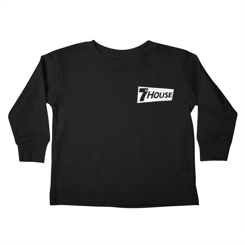 7th House design by Nuntida Sirisombatwattana Kids Toddler Longsleeve T-Shirt by 7thHouse Official Shop