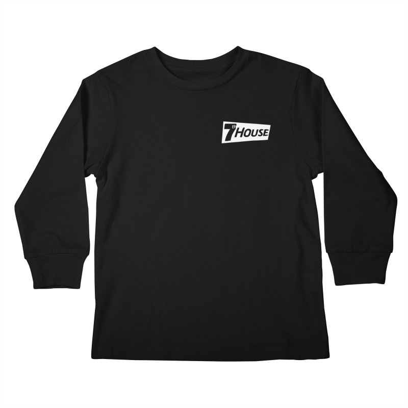 7th House design by Nuntida Sirisombatwattana Kids Longsleeve T-Shirt by 7thHouse Official Shop