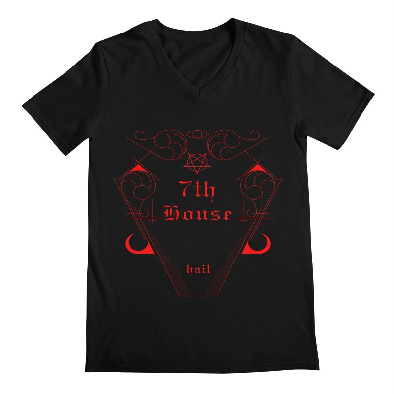 Design by William Gustus Men's V-Neck by 7thHouse Official Shop