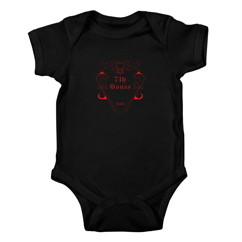 Design by William Gustus Kids Baby Bodysuit by 7thHouse Official Shop