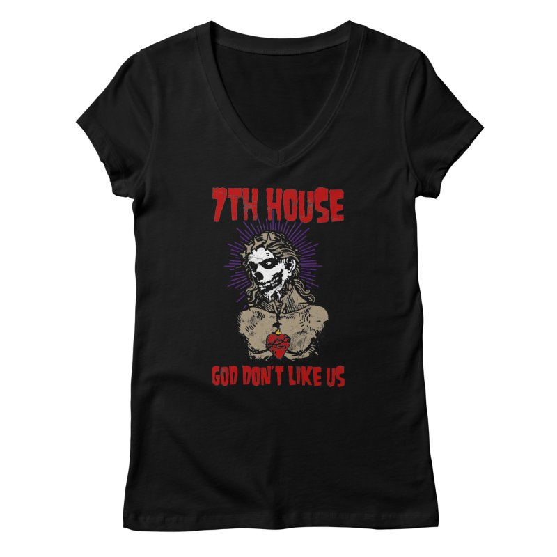 Design by Brian Van Der Pol Women's V-Neck by 7thHouse Official Shop