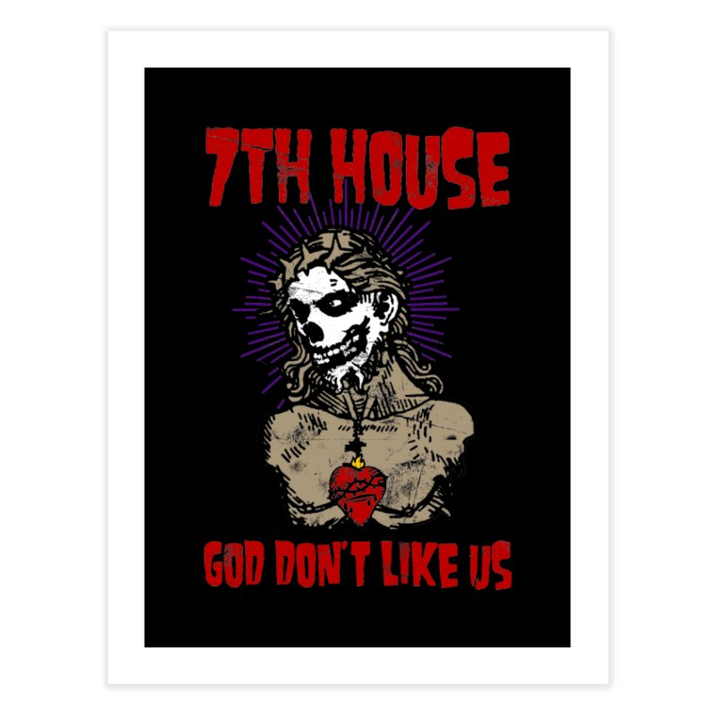 Design by Brian Van Der Pol Home Fine Art Print by 7thHouse Official Shop