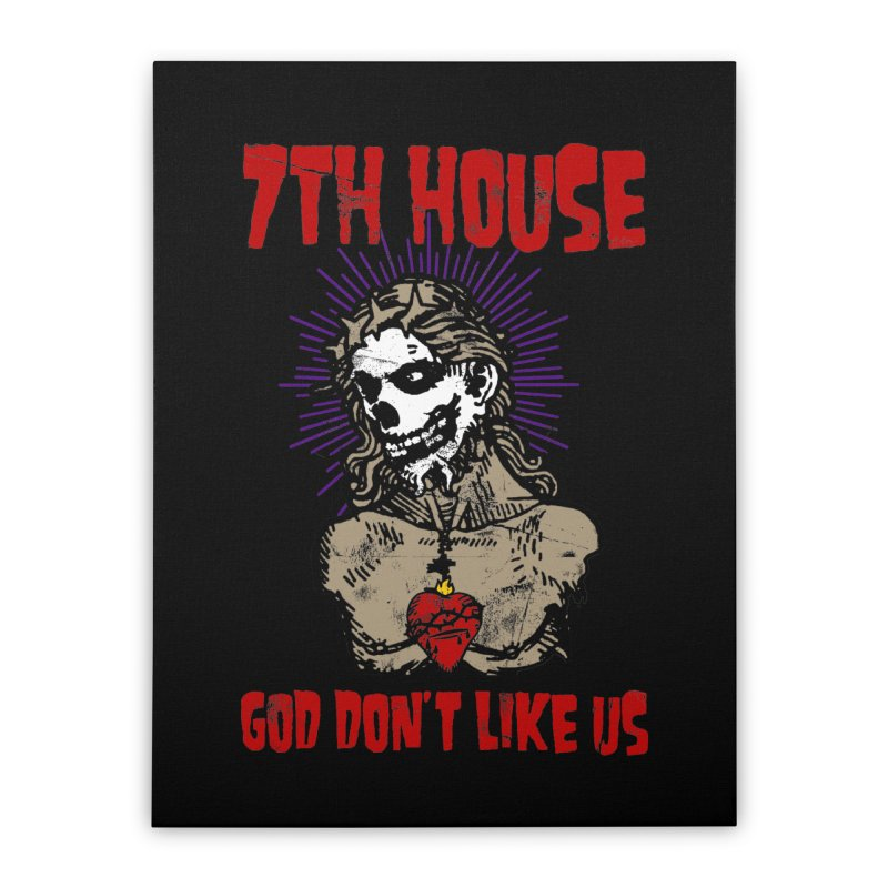 Design by Brian Van Der Pol Home Stretched Canvas by 7thHouse Official Shop