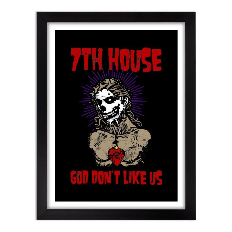 Design by Brian Van Der Pol Home Framed Fine Art Print by 7thHouse Official Shop